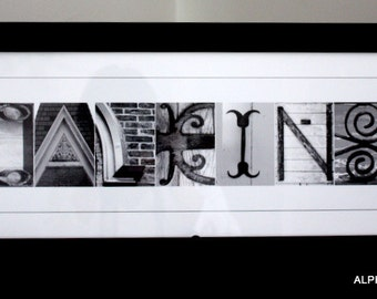 Alphabet Letter Photography - (custom print) unframed