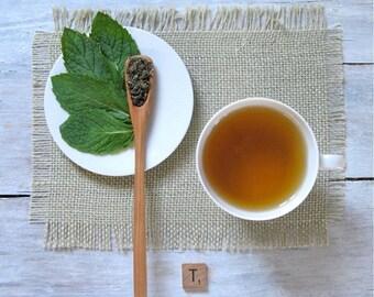 Moroccan Mint Green Tea • 8 oz. Kraft Bag • Hand Blended Loose Leaf Tea • Chinese Gunpowder & Spearmint