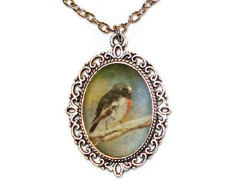 Robin Necklace Robin Pendant Jewelry