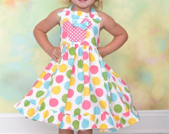 Minnie Mouse Girls' Birthday Party Dress