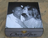 Personalized Wedding Keepsake Box, Unique Engagement Gift, Wedding Gift, Anniversary Gift, Photo Memory Box, Unique Gift