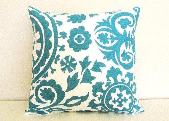 Decorative Throw Pillows Clearance : CLEARANCE 15% OFF Throw Pillow Cover. Suzani Decorative Pillow