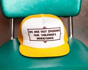 Funny Vintage Mesh Hat - Retiree