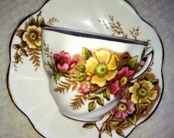 Vintage Rosina  Rose Tea Cup