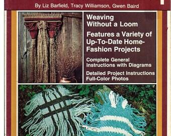 Dimensions in Off Loom Weaving Pattern Book Weave Easy Series 7211