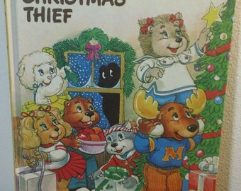The Get Along Gang and the Christmas Thief by Alice Parker vintage 1984 American Greetings hardcover book ~ illustrated by Neal McPheeters