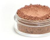 """Pink Brown Blush - """"Fable"""" (medium nude blush, matte, Net Wt 4.5g jar) - Vegan natural blush for light to medium skin"""