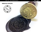 Custom Wax Seal Stamp Set, Personalised Logo and Design