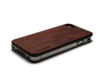 iPhone 4 Case Wood Rosewood, Wood iPhone 4S Case Wood iPhone 4 Case, iPhone 4 Wood Case, iPhone 4S Wood Case, iPhone Case