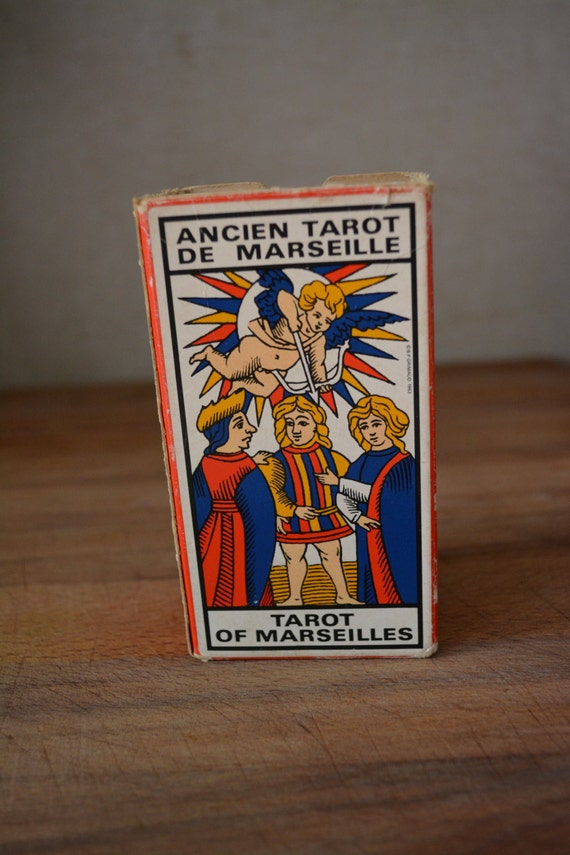 French Tarot Cards Grimaud Fortune Teller's Cards. Paul