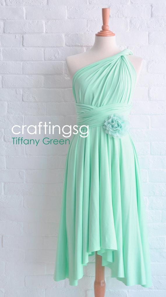 Bridesmaid Dress Infinity Dress Tiffany Green By