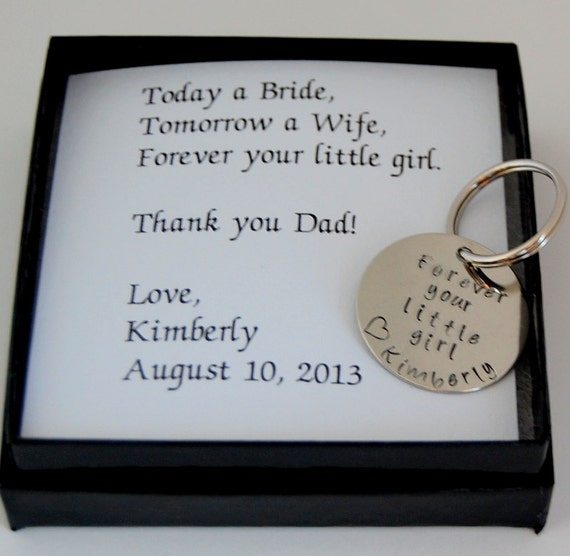Wedding Day Gift For Father Of The Bride : Father of the Bride Gift, Gift for Father of the Bride, Personalized ...