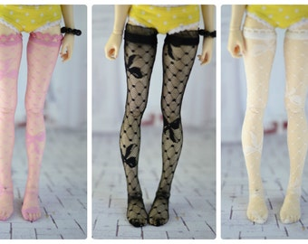 Stockings for doll 1/4 slim msd minifee