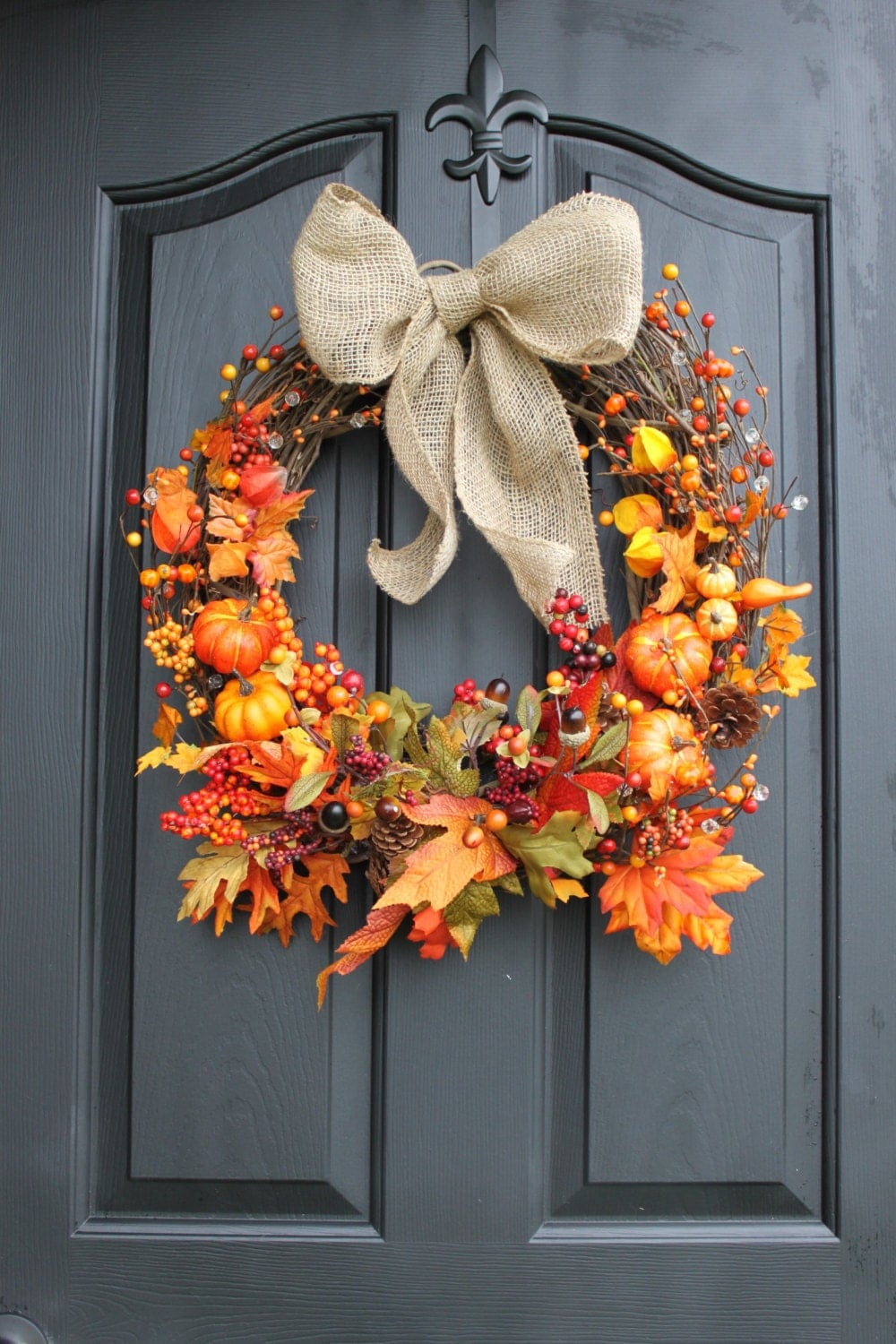 Unavailable Listing On Etsy: fall autumn door wreaths