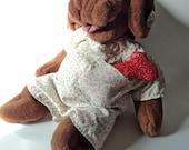 Vintage Wrinkles Dog Puppet Heritage Collection Original Dress/ Bone GANZ