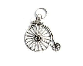 Penny Farthing Bicycle Keyring