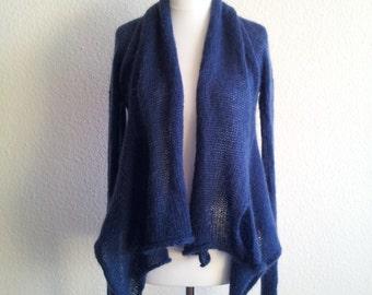 jeacara -  Malou blau  - Strickjacke - Wolle
