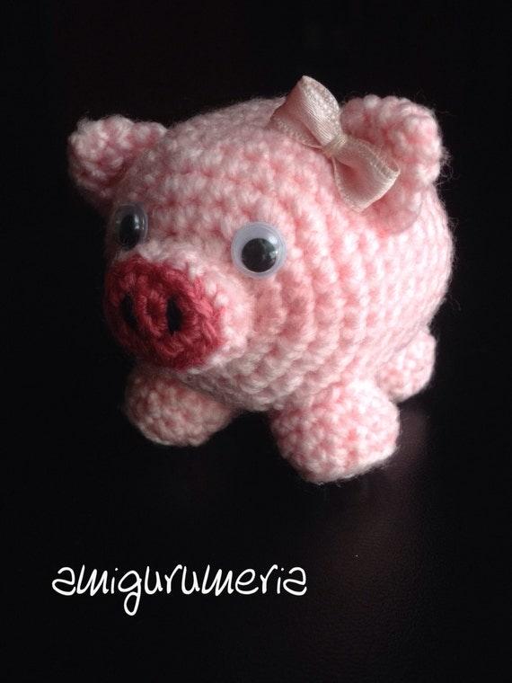 DIY Piggy Piglet Pig Amigurumi Crochet PDF Easy by ...