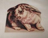 Vintage / CHILDREN'S BOOK / Bunny / Rabbit / Miniature / Poetry / Poems / 1982 Merrimack Publishing / New-Old-Stock / NOS / Paper Ephemera