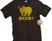 Beer gifts for men Beer Bear Shirt Funny Mens Beer Tshirts Birthday Gift for Boyfriend Son or Son In Law