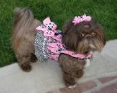 SAMPLE SALE:  Springtime in Paris Dog Harness