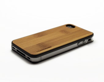 iPhone 4 Case Wood Caramel Bamboo, Wood iPhone 4S Case Wood iPhone 4 Case, iPhone 4 Wood Case, iPhone 4S Wood Case, iPhone Case
