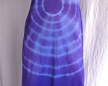 Tie Dye Nightgown Maxi Dress SMALL 34 Upcycled Slip Dress Hand Dyed Vintage Slip Boho Hippie Festival Dress Long Sundress Bridal Lingerie