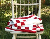 Double Irish Chain Quilt - DEPOSIT ONLY - Twin Size - Made-to-Order Quilt