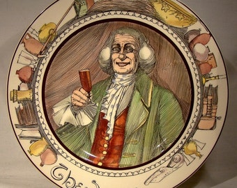 Royal Doulton THE SQUIRE Series Ware Plate 1940s