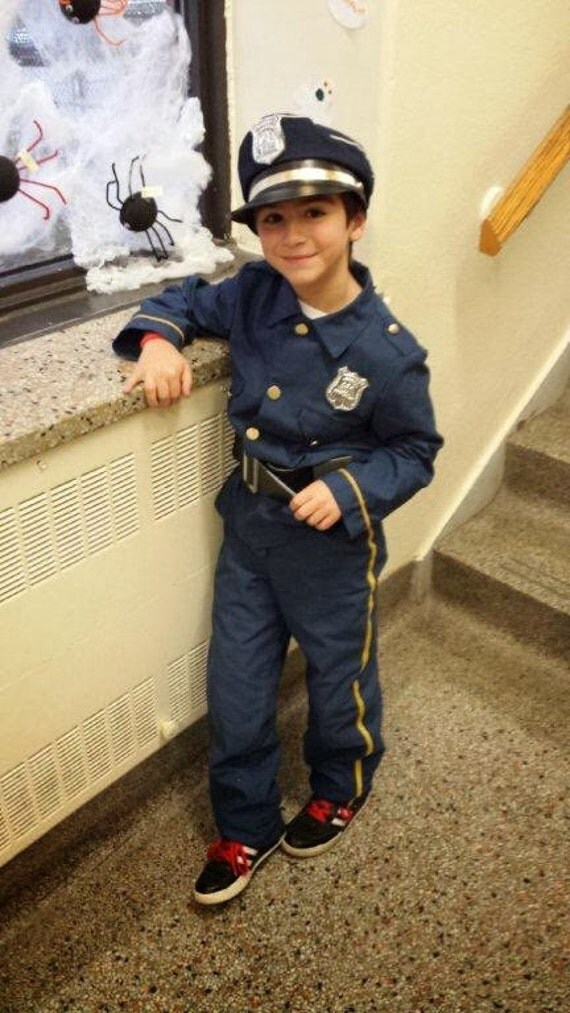 Police costume child police costume police officer ready to - Police officer child costume ...