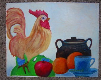Kitchen Still Life Original Painting