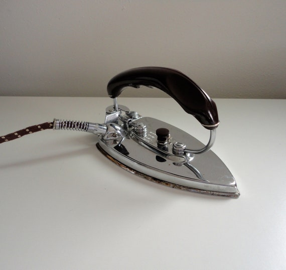 Vintage Folding Iron By Durabilt Fully Automatic Electric