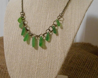 Dancing Dangles Sea Glass Necklace