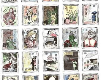 Artistamps  - Petite Postale