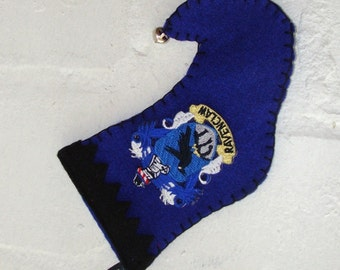 Ravenclaw Elf Stocking Ornament - Mini Size