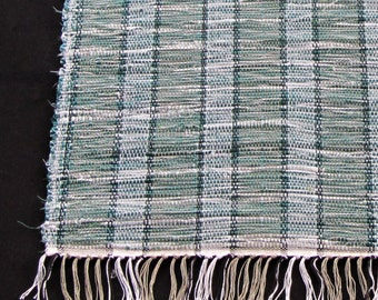 "Rag Rug ""Spearmint Twist"""