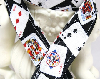 Lanyard Badge Holder with Breakaway Clip Playing Cards