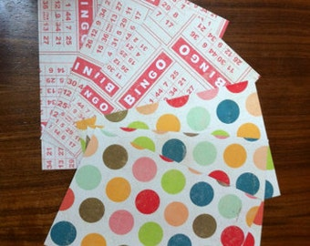 set of 6 postcards