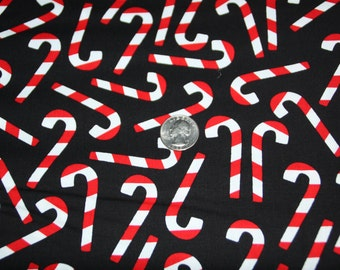 Robert Kaufman Fabrics - Jingle - AAK-12399-2 Black - One Full Yard
