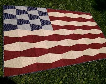 Tumbler Flag Quilt