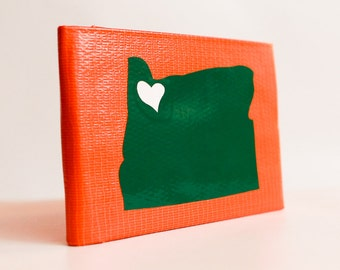 Oregon Love Duct Tape Wallet - by jDUCT