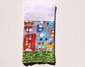 Going Places Boy Burp Cloth -  - Boy Baby Gift - Designer Burp Cloth