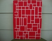 Vintage Piet Mondrian Life and Work Hardback Book Color Plates Art Book
