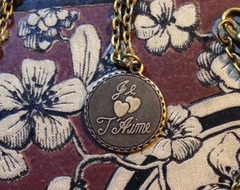 Je T'Aime Charm Necklace