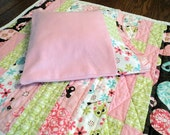 "American Girl or 18"" Doll Quilt - Flannel quilt with matching pillowcase/pillow"