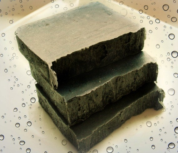 Activated Charcoal Olive Oil Soap Bar (Palm-Free) (Vegan Friendly)