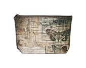CLEARANCE Darling Crowded Attic zipper clutch bag