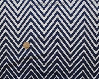 SALE Moda, V Co., Simply Style, Zig Zag Ombre Navy Blue Fabric - Half Yard