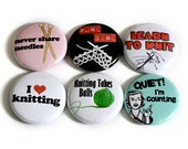 Knitting Buttons -  Great Gift for Knitters