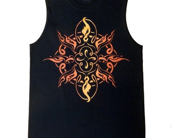 SALE! Sacred Flame Mens Muscle T Shirt